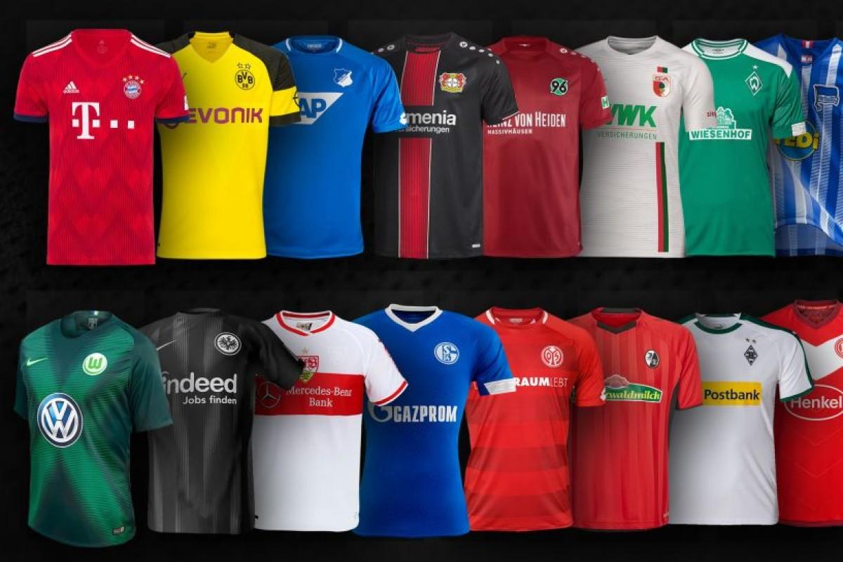 Bundesliga Trikots: Nur die Bayern haben Adidas noch als