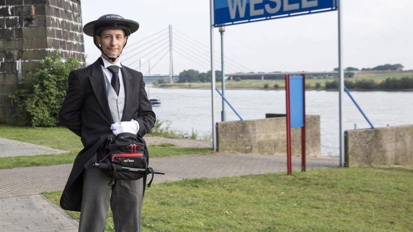 Rollender Butler Mit Mission Nachrichten Aus Wesel Der
