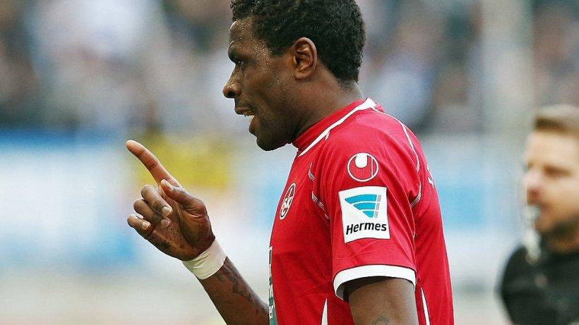 """KFC-Trainer Boris: """"Es gibt kein Problem mit Idrissou ..."""