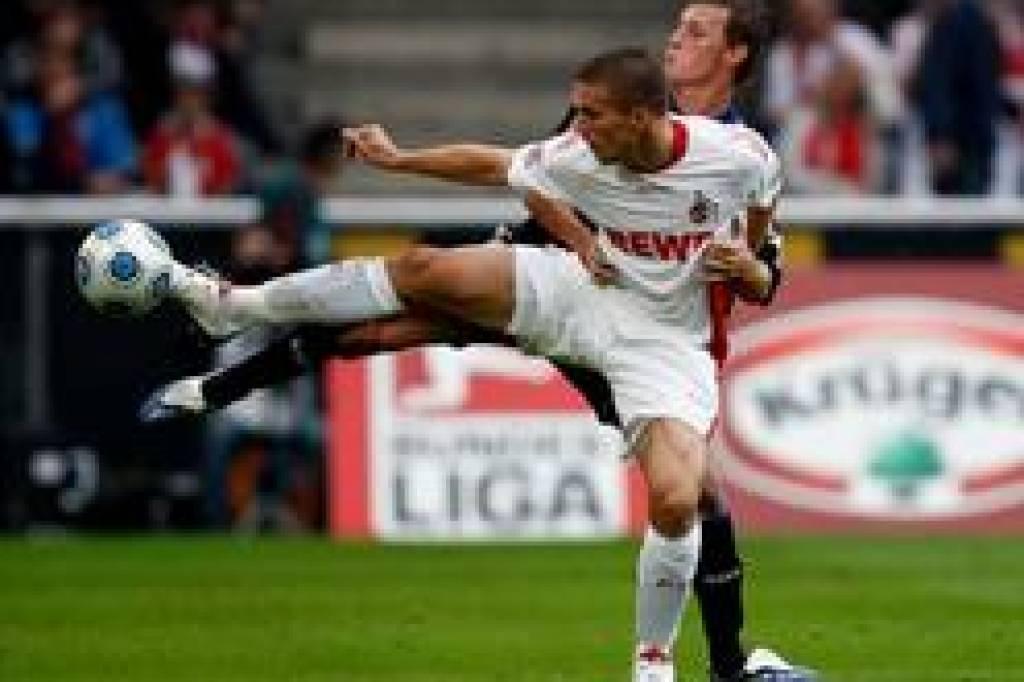 Erstes Podolski Tor Reicht Nicht Nrzde Fußball
