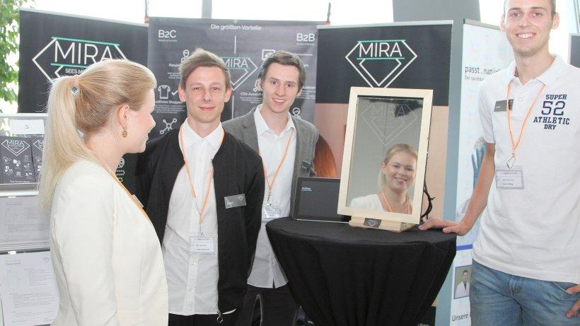 Gruppe um dinslakener entwickelt einen smarten spiegel for Spiegel xanten