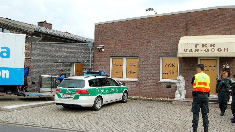 Zollfahndung durchsucht Bordell in Goch - nrz.de
