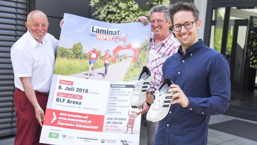 Laminat depot richtet laufveranstaltung in velbert aus for Depot wesel