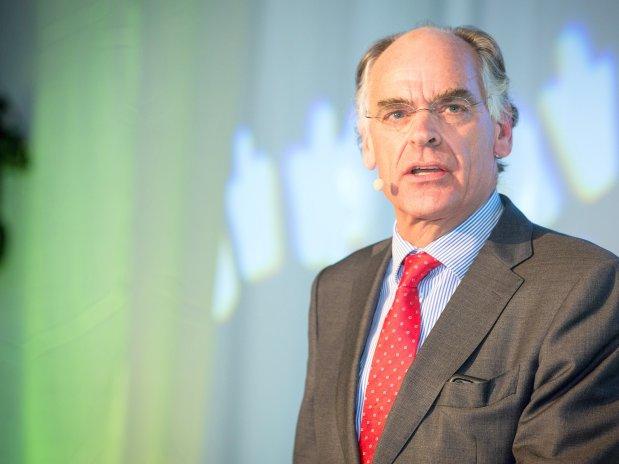 Leon van Halder, Vorstandsvorsitzender der Universitätsklinik