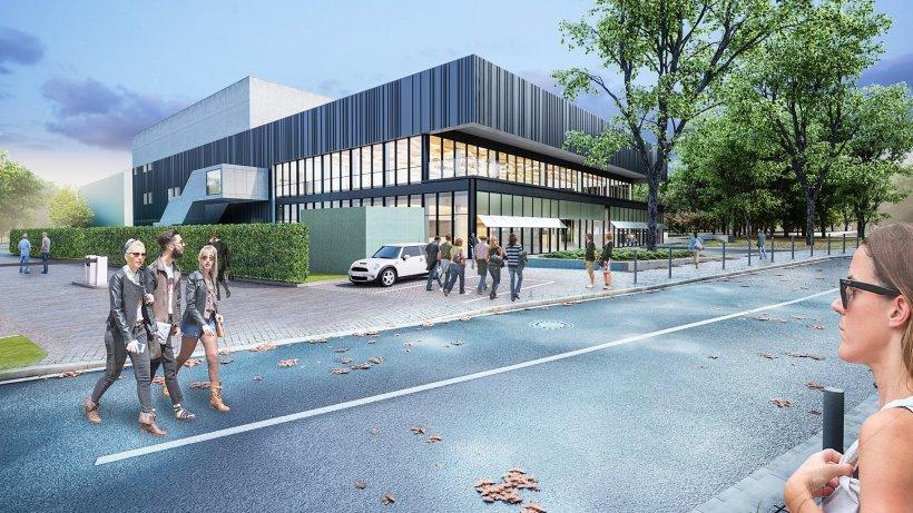 studierendenwerk neue mensa f llt kleiner aus als geplant schule und campus. Black Bedroom Furniture Sets. Home Design Ideas