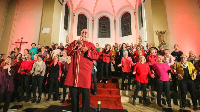 Rekord: Rekordteilnahme beim Gospelwochenende in Bestwig