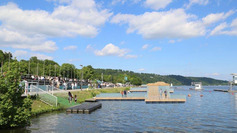 Architekt entwirft schwimmende pavillons f r den - Architekt essen ...