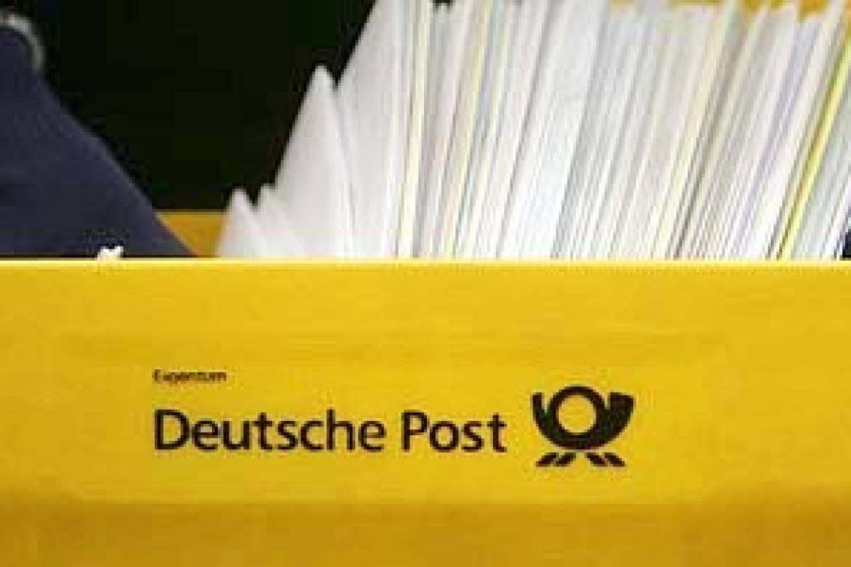 Post Darf Porto Für Briefe 2012 Leicht Erhöhen Nrzde Wirtschaft