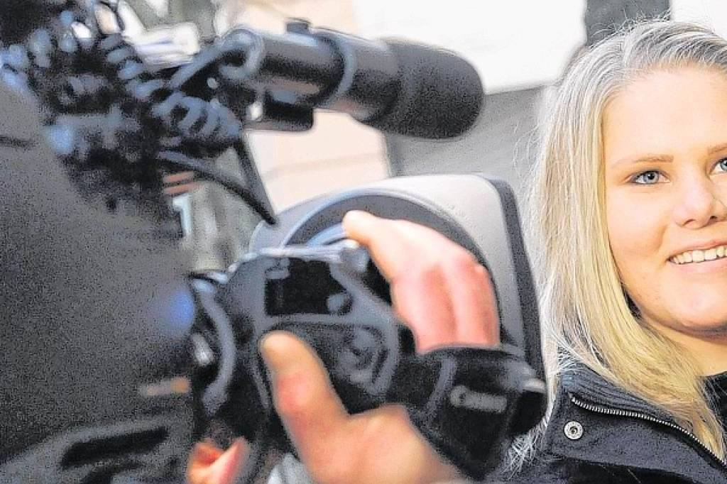 Bewerbung Vor Laufender Kamera Nrzde Moers Und Umland