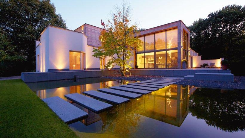 Weniger ist mehr der moderne garten ist ein puristischer ruhepol wohnen - Moderne bder mit dachschrge ...