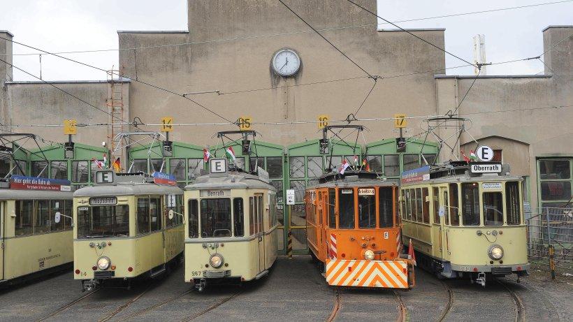 Ehemaliges rheinbahn depot beheimatet zuk nftig for Depot wesel