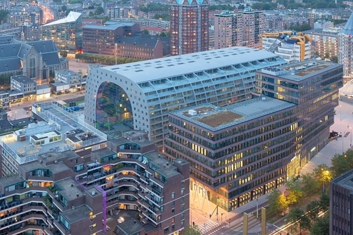 Rotterdam Errichtet Eine Kathedrale Der Fruchte