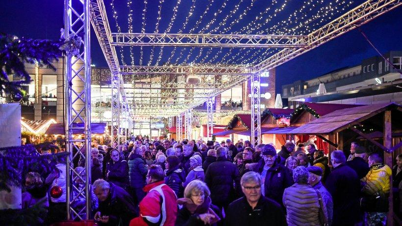 Dinslaken: Auf dem Neutorplatz leuchtet der Sternenhimmel - NRZ