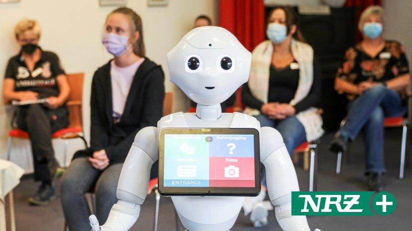 Roboter Pepper soll bald Voerder Heimbewohner unterhalten