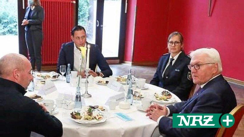 Bundespräsident lud Andre Stepper aus Voerde zum Kaffee ein