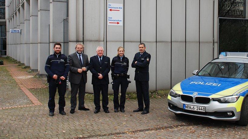 Polizeiwache Düsseldorf Bilk