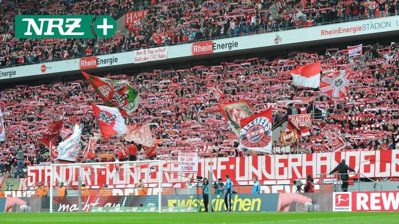 Fahnenklau Köln Gladbach