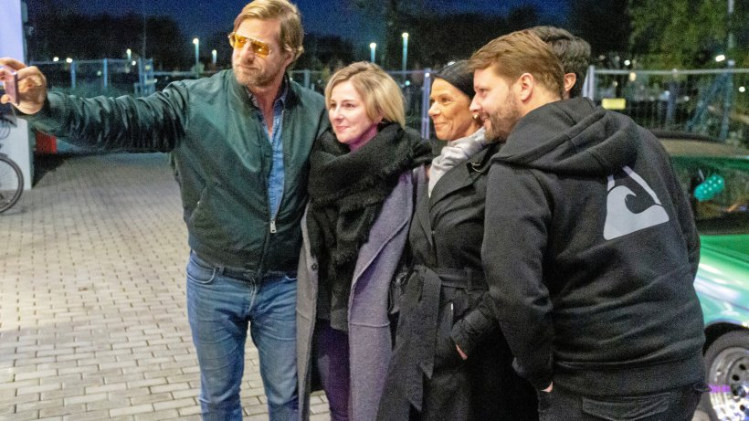 Henning Baum löst Selfie-Fieber im Kino in Kamp-Lintfort aus - NRZ