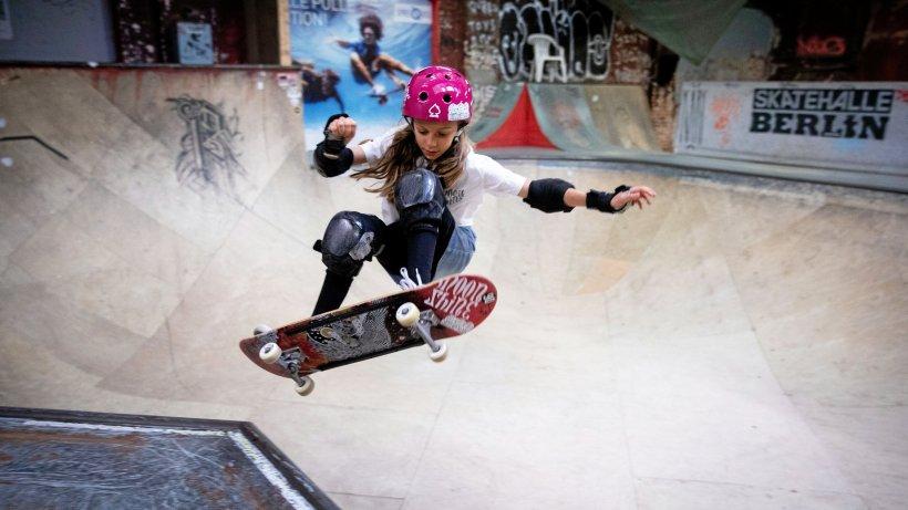 Lilly Stoephasius ist deutsche Meisterin auf dem Skateboard - NRZ