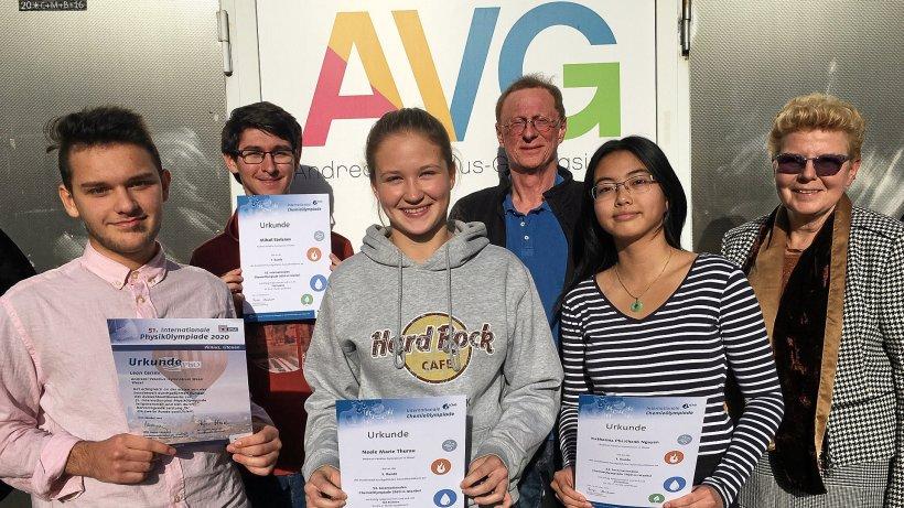 Gratulation für ausgezeichnete Schüler des AVG Wesel - NRZ