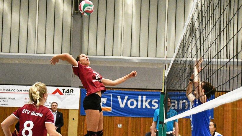 Hünxer Volleyballerinnen entscheiden Krimi für sich - NRZ