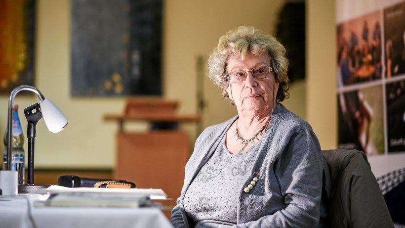 """Tamar Dreyfuss (81) in Dinslaken: """"Gemeinsam sind wir stark"""" - NRZ"""