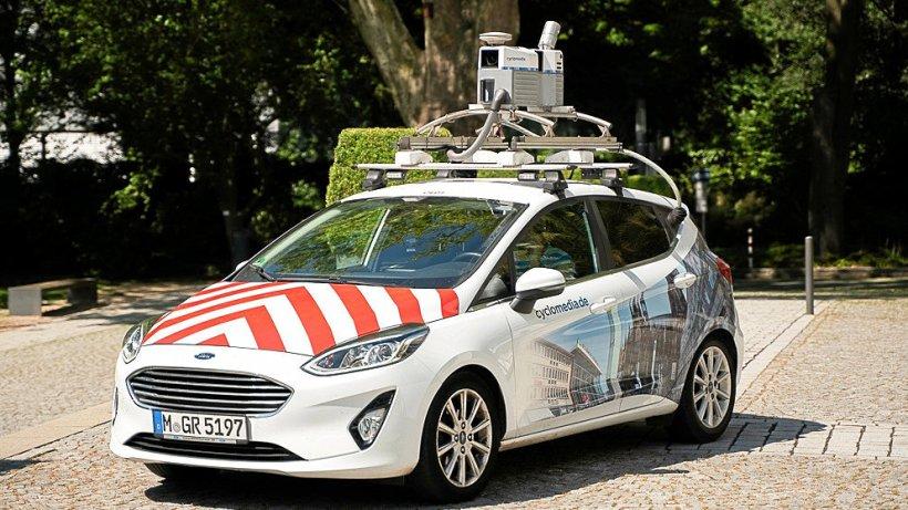 Kamerafahrt: Straßen in Gladbeck werden digital erfasst