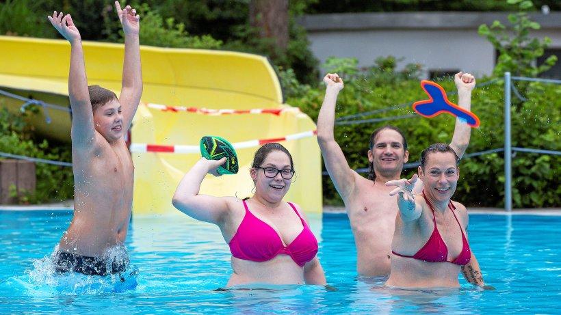 Hitze: Freibad in Hattingen weitet Besucherzahl aus