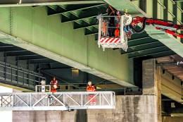 A43: Vollsperrung ab Freitagabend für Brücken-Test bei Herne