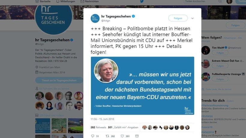 Satiremeldung Sorgt Für Wirbel U2013 So Verteidigt Sich Twitter | Nrz.de |  Politik