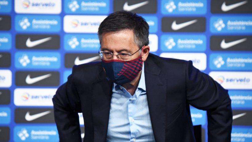 Barcelonas umstrittener Clubchef Bartomeu zurückgetreten