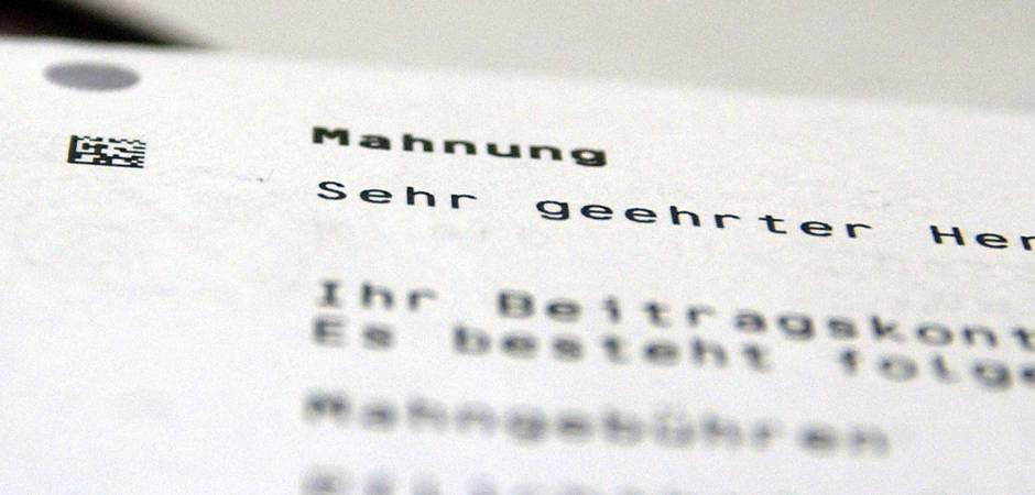 Angemahnt Und Abkassiert Sieben Irrtümer über Mahngebühren Nrz